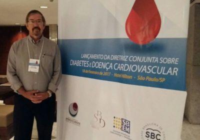 Prof.Dr. João C.F.Braga participou do lançamento da Diretriz Conjunta sobre Diabetes e Doença Cardiovascular São Paulo -Fevereiro2017